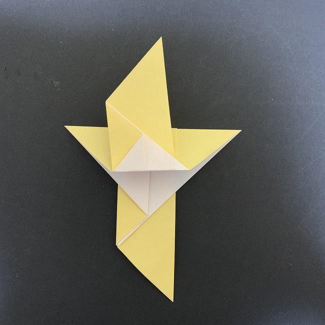 羽ばたく鳩の折り紙*折り方 (8)