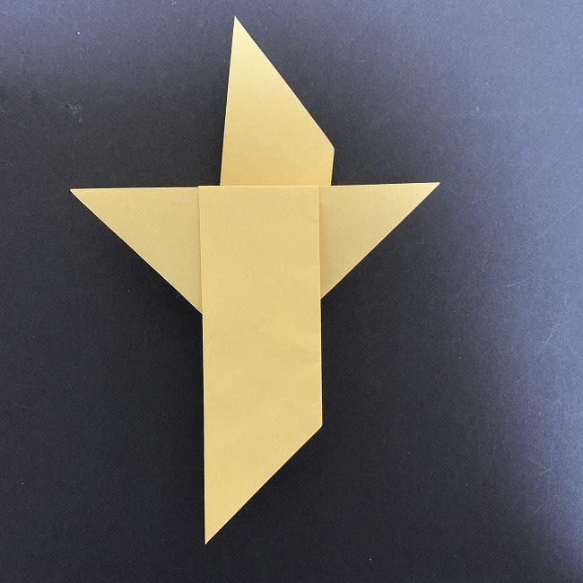 羽ばたく鳩の折り紙*折り方 (9)