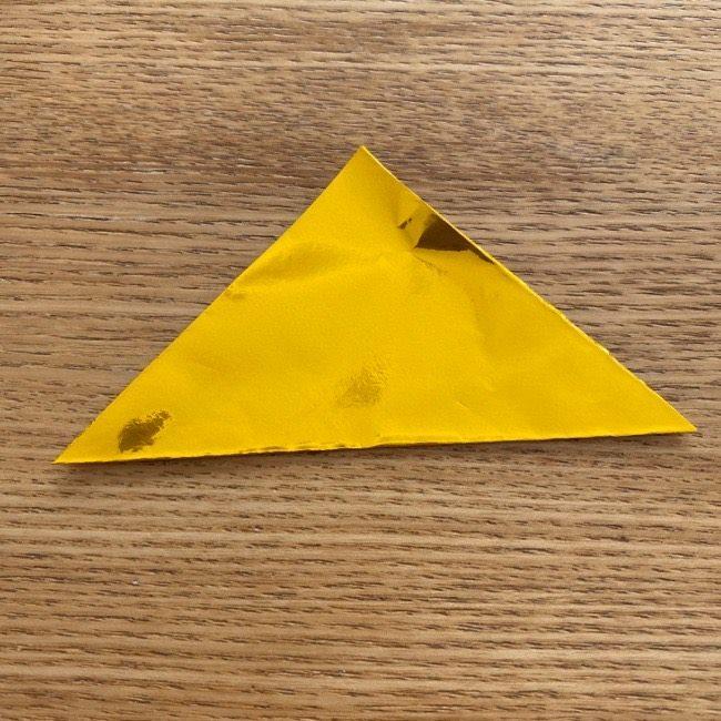 雛人形の扇子の折り紙:折り方 (2)