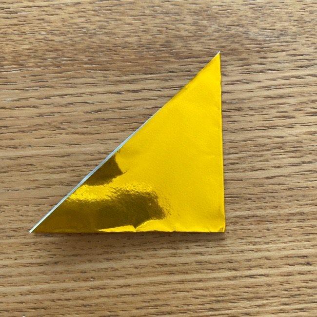 雛人形の扇子の折り紙:折り方 (3)