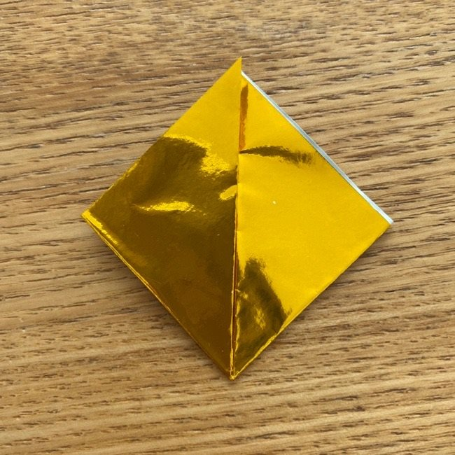 雛人形の扇子の折り紙:折り方 (5)