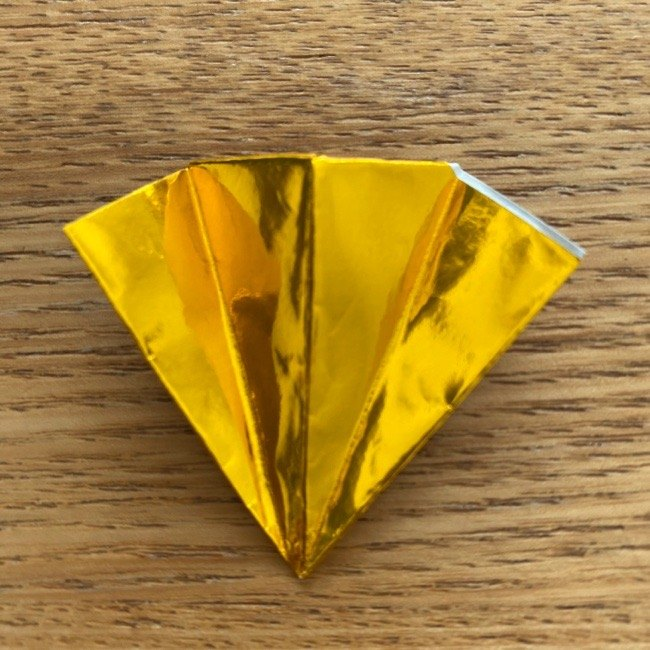 雛人形の扇子の折り紙:折り方 (9)