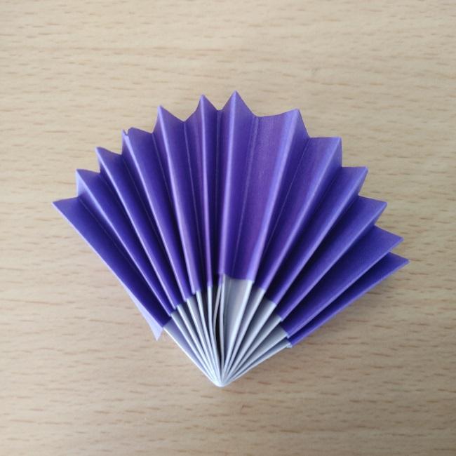 雛人形の扇子 折り紙の折り方★平面・子供でも簡単・豪華な作り方
