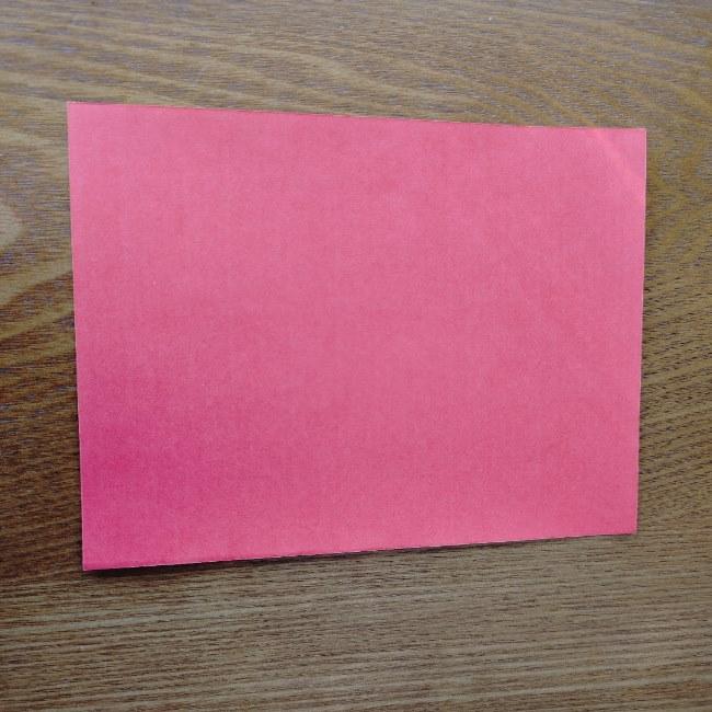 鬼の折り紙 3歳児からOK♪な作り方 (1)
