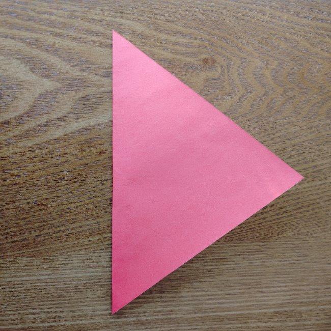 鬼の折り紙 3歳児からOK♪な作り方 (2)