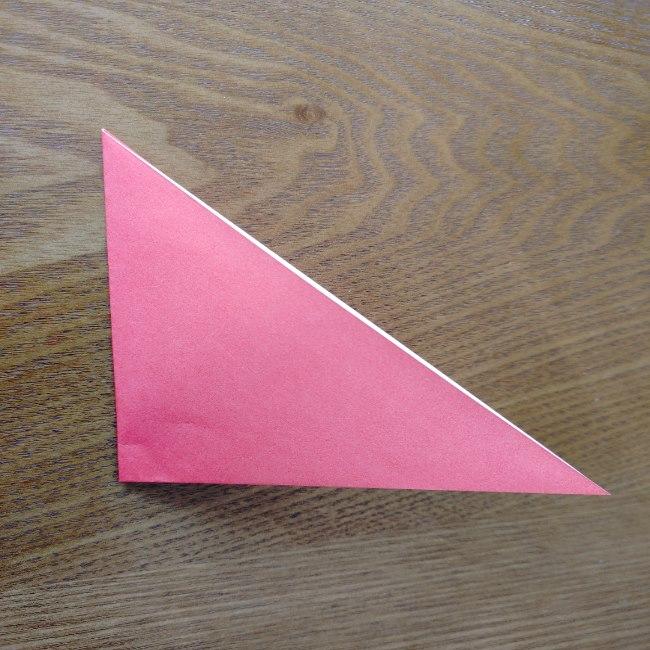 鬼の折り紙 3歳児からOK♪な作り方 (3)