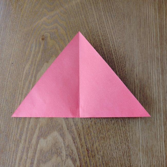鬼の折り紙 3歳児からOK♪な作り方 (4)