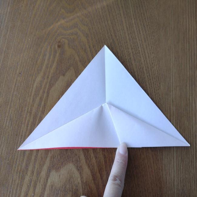 鬼の折り紙 3歳児からOK♪な作り方 (6)