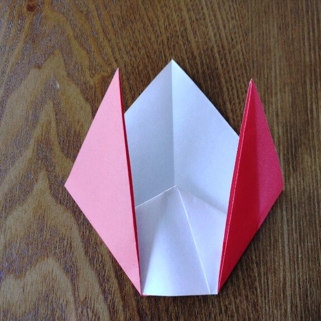 鬼の折り紙 3歳児からOK♪な作り方 (7)