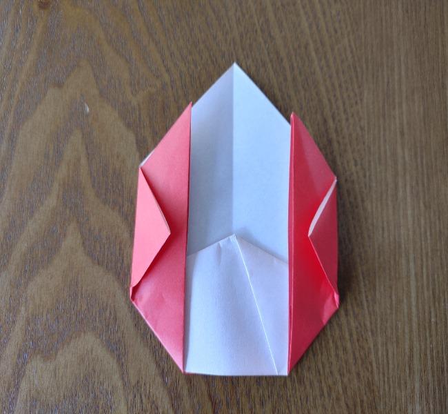 鬼の折り紙 3歳児からOK♪な作り方 (8)