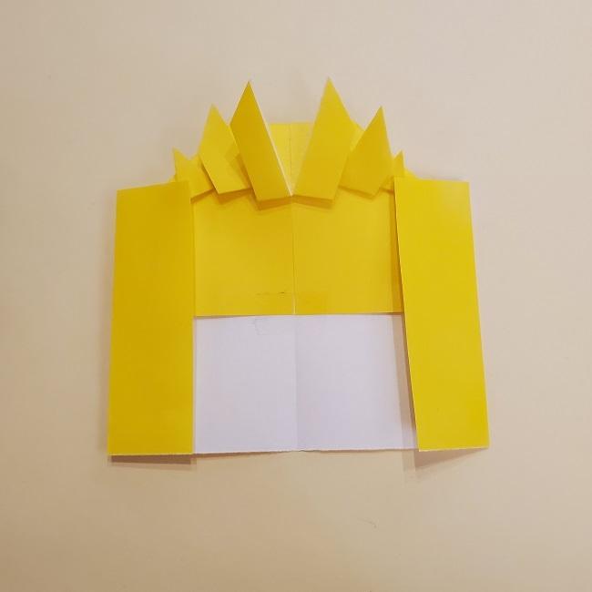 鬼滅の刃★折り紙の折り方 煉獄さん (23)