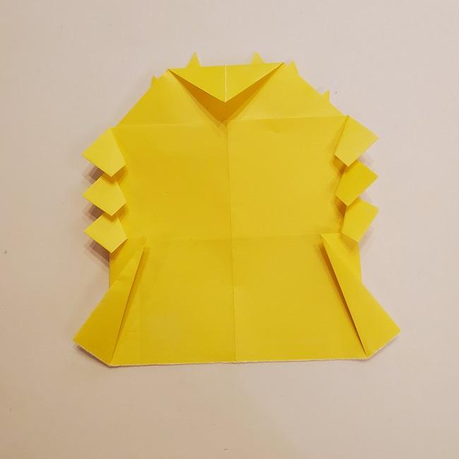 鬼滅の刃★折り紙の折り方 煉獄さん (29)
