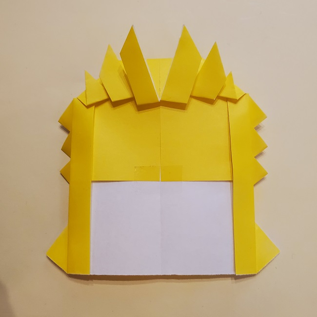 鬼滅の刃★折り紙の折り方 煉獄さん (30)