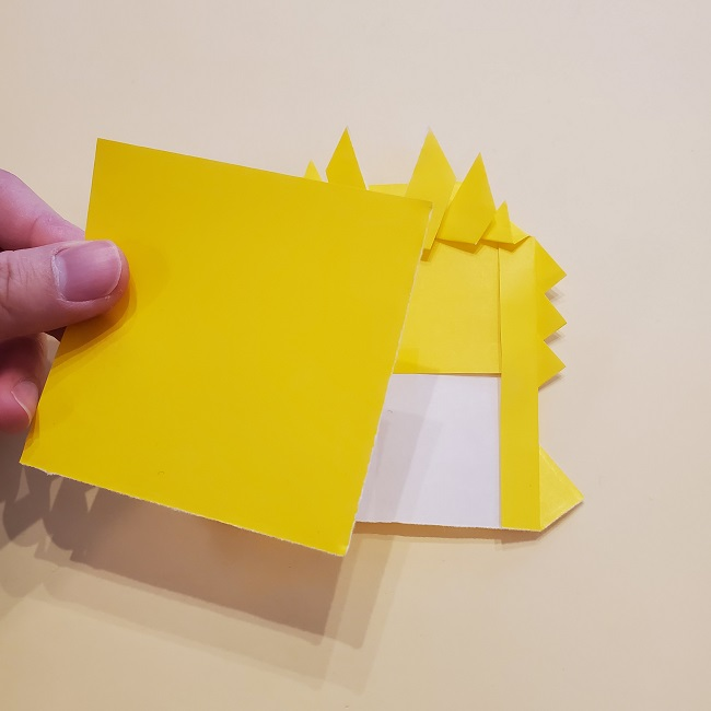 鬼滅の刃★折り紙の折り方 煉獄さん (32)