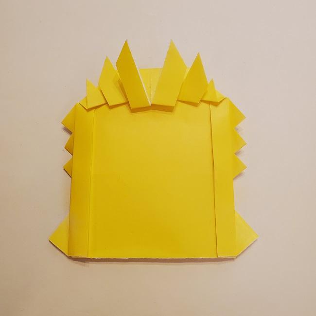 鬼滅の刃★折り紙の折り方 煉獄さん (34)
