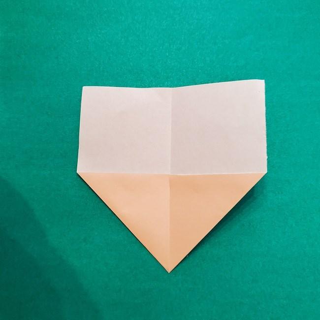 鬼滅の刃★折り紙の折り方 煉獄さん (4)