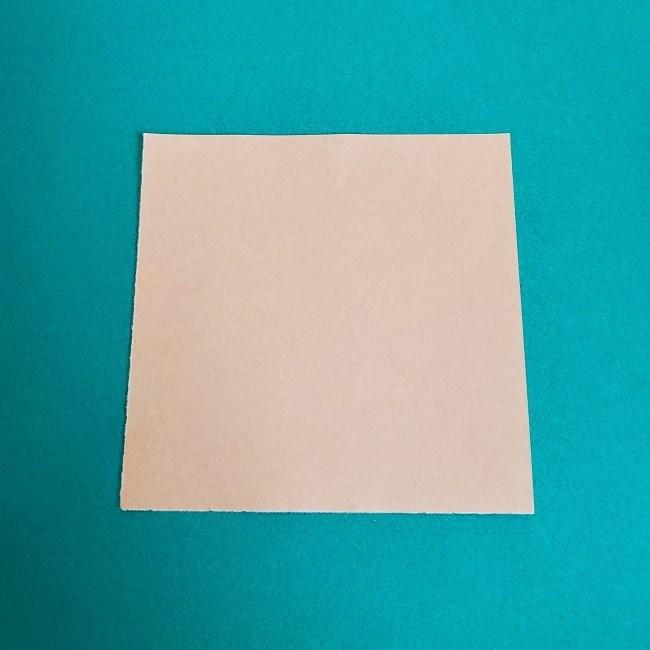 鬼滅の刃(きめつのやいば)の折り紙 無一郎の折り方・作り方 (1)
