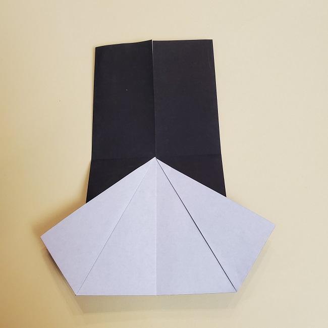 鬼滅の刃(きめつのやいば)の折り紙 無一郎の折り方・作り方 (12)