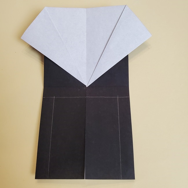 鬼滅の刃(きめつのやいば)の折り紙 無一郎の折り方・作り方 (13)