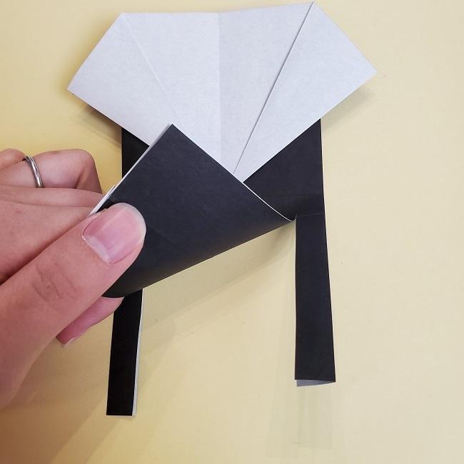 鬼滅の刃(きめつのやいば)の折り紙 無一郎の折り方・作り方 (14)