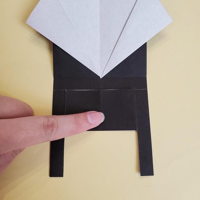鬼滅の刃(きめつのやいば)の折り紙 無一郎の折り方・作り方 (15)