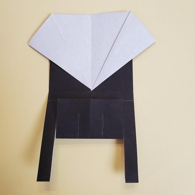 鬼滅の刃(きめつのやいば)の折り紙 無一郎の折り方・作り方 (16)