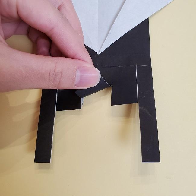 鬼滅の刃(きめつのやいば)の折り紙 無一郎の折り方・作り方 (17)