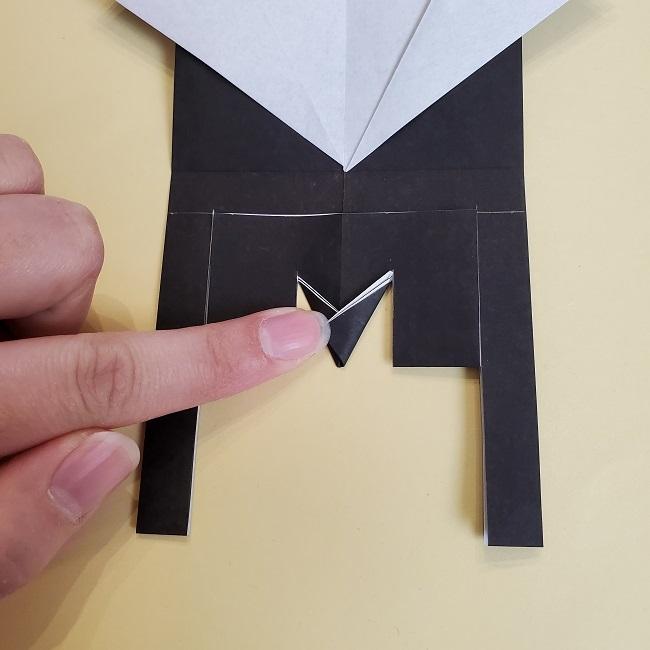 鬼滅の刃(きめつのやいば)の折り紙 無一郎の折り方・作り方 (18)