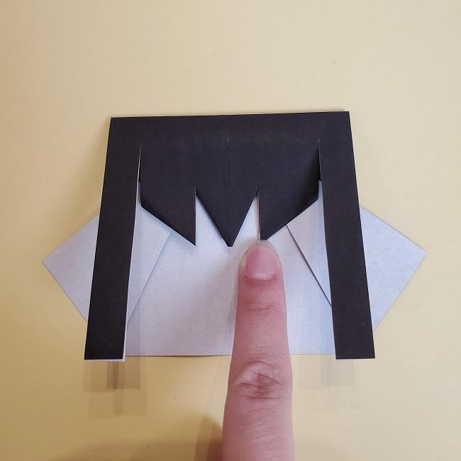 鬼滅の刃(きめつのやいば)の折り紙 無一郎の折り方・作り方 (20)