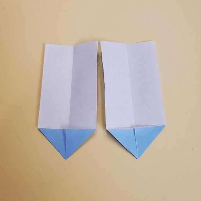 鬼滅の刃(きめつのやいば)の折り紙 無一郎の折り方・作り方 (30)