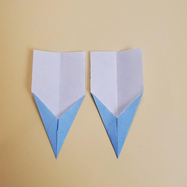 鬼滅の刃(きめつのやいば)の折り紙 無一郎の折り方・作り方 (31)