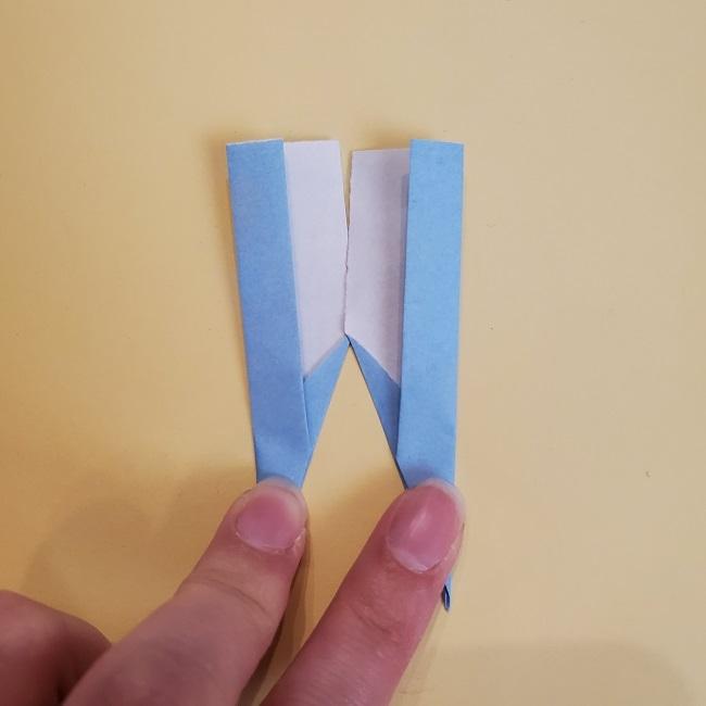 鬼滅の刃(きめつのやいば)の折り紙 無一郎の折り方・作り方 (33)