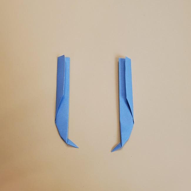 鬼滅の刃(きめつのやいば)の折り紙 無一郎の折り方・作り方 (37)