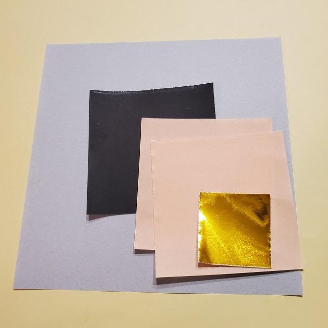 鬼滅の刃の折り紙【うずい】材料・必要なもの (2)