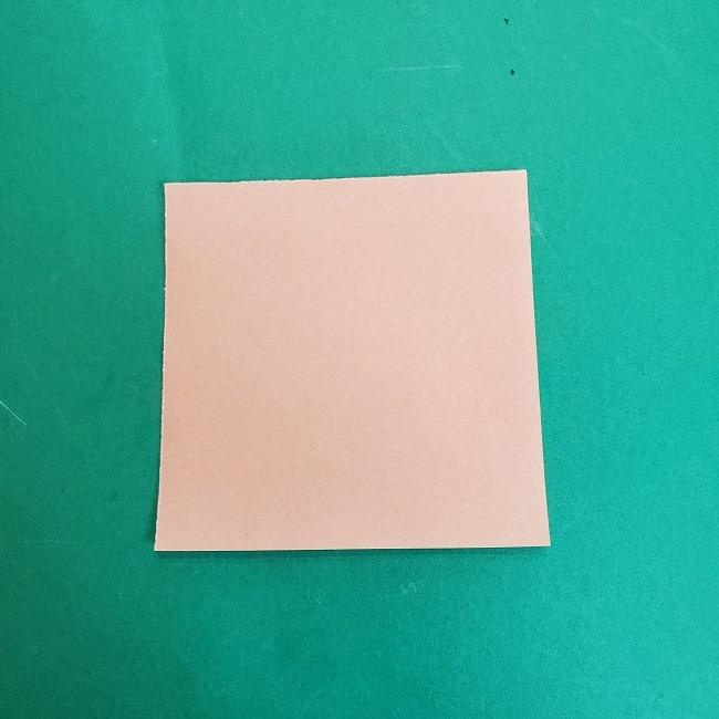 鬼滅の刃 折り紙の折り方【胡蝶しのぶ】 (1)