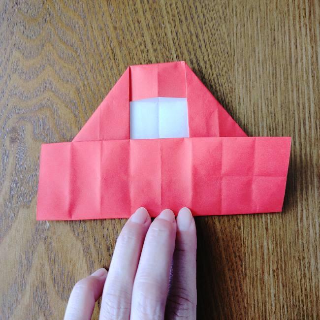 1月の折り紙 簡単!だるまの折り方・作り方 (10)
