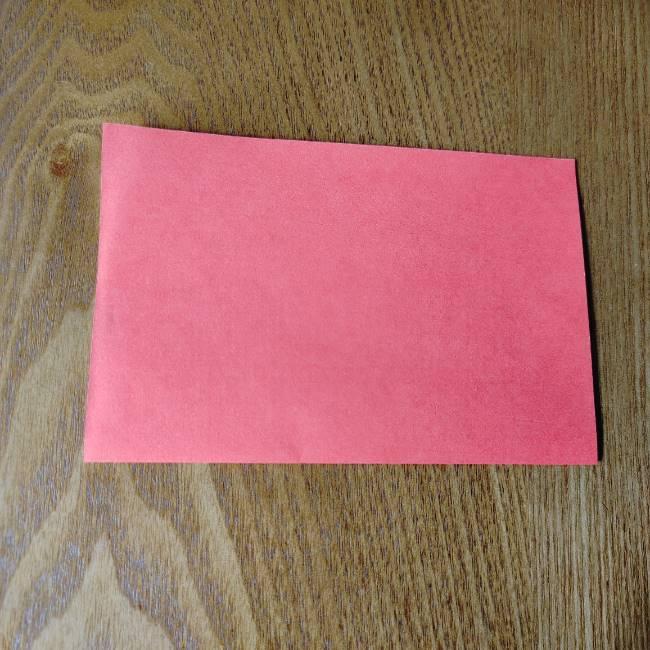 1月の折り紙 簡単!だるまの折り方・作り方 (2)