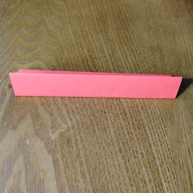 1月の折り紙 簡単!だるまの折り方・作り方 (3)