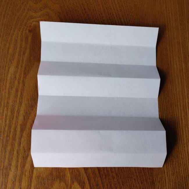 1月の折り紙 簡単!だるまの折り方・作り方 (4)