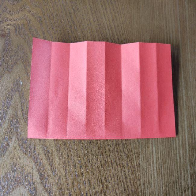1月の折り紙 簡単!だるまの折り方・作り方 (5)
