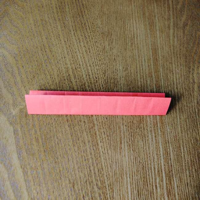 1月の折り紙 簡単!だるまの折り方・作り方 (6)