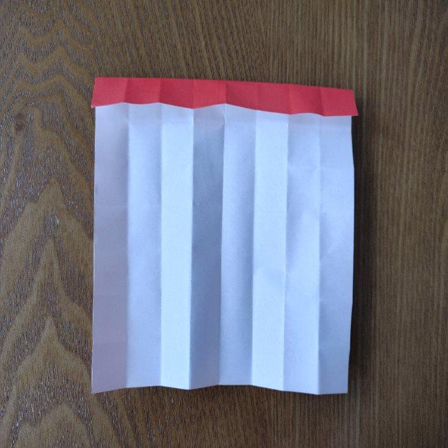 1月の折り紙 簡単!だるまの折り方・作り方 (7)
