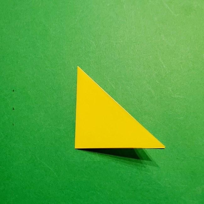 12枚の折り紙でつくる【松竹梅の折り紙リース】折り方・作り方 (3)
