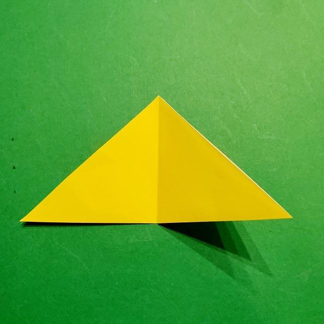 12枚の折り紙でつくる【松竹梅の折り紙リース】折り方・作り方 (4)