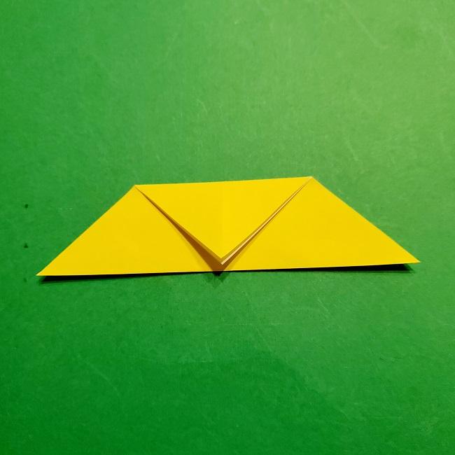12枚の折り紙でつくる【松竹梅の折り紙リース】折り方・作り方 (5)