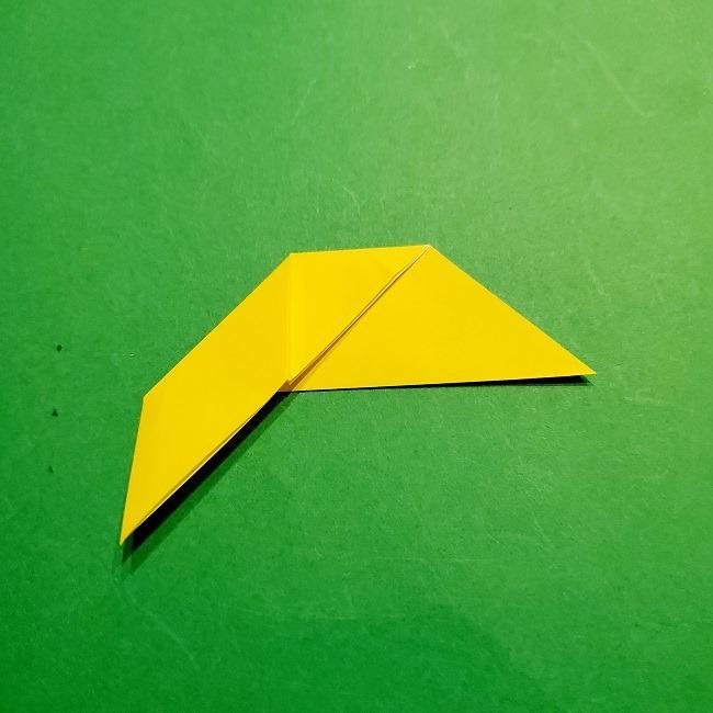 12枚の折り紙でつくる【松竹梅の折り紙リース】折り方・作り方(6)