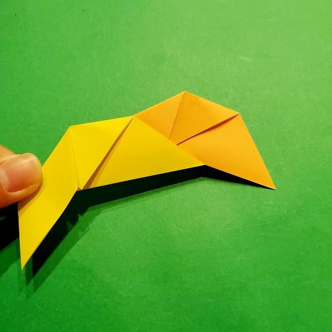 12枚の折り紙でつくる【松竹梅の折り紙リース】折り方・作り方 (9)