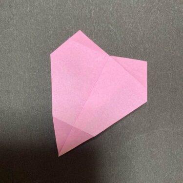 【桜の花びら】折り紙の折り方作り方★1枚でできる簡単かわいい春の花
