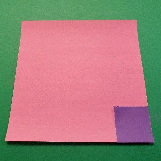 あつ森「ももこ」の折り紙*用意するもの