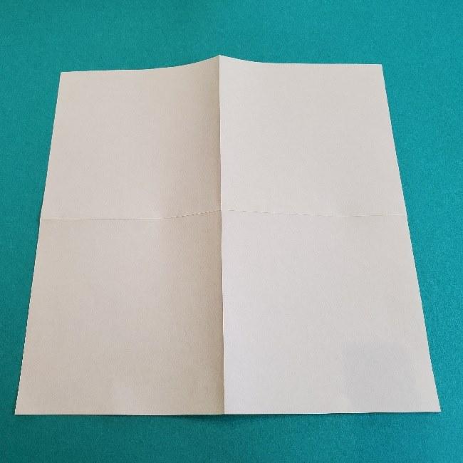 あつまれどうぶつの森の折り紙 簡単ジュンの折り方作り方 (1)